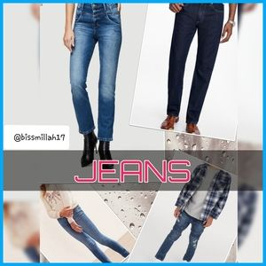⬇ JEANS & PANTS COLLECTION ⬇